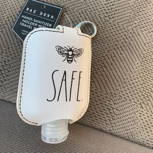Rae Dunn hand sanitizer holder and keychain